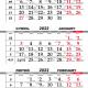 Календарная сетка «Шара» 2022